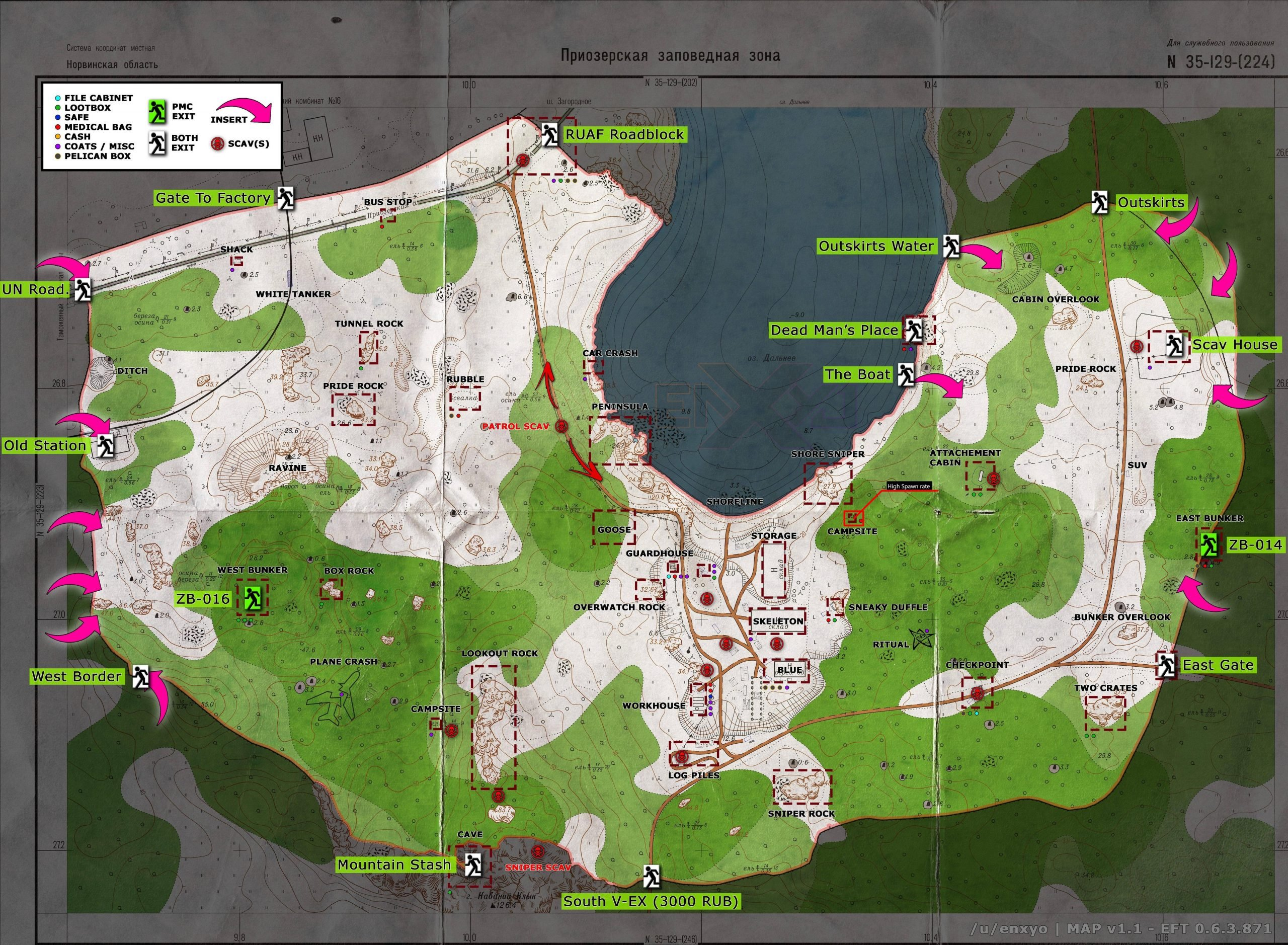 Escape From Tarkov Woods Map Guide 2021
