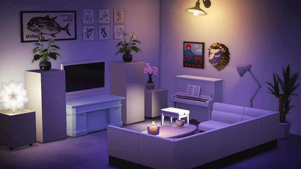 Animal Crossing New Horizons Living Room Designs