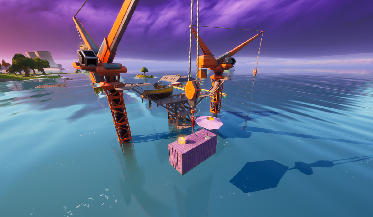Fortnite Time Trial Locations Map How To Complete The Swimming Time Trial At Dirty Docks In Fortnite