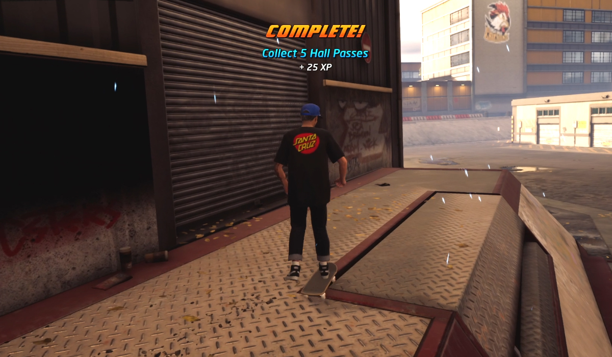 Collect 5 Hall Passes On School Ii In Tony Hawk S Pro Skater 1 2