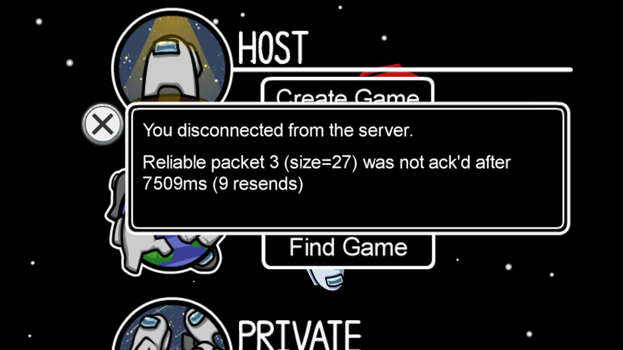 How To Fix Among Us Disconnected From The Server Error