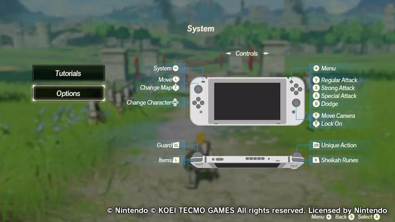How To Save Your Game In Hyrule Warriors Age Of Calamity