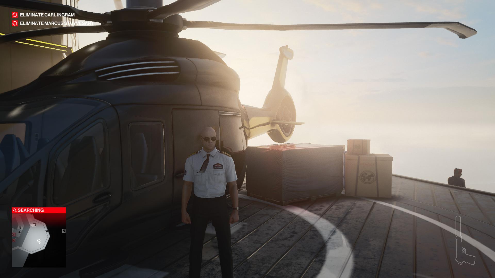 Hitman 3: Où trouver la clé de l'hélicoptère à Dubaï