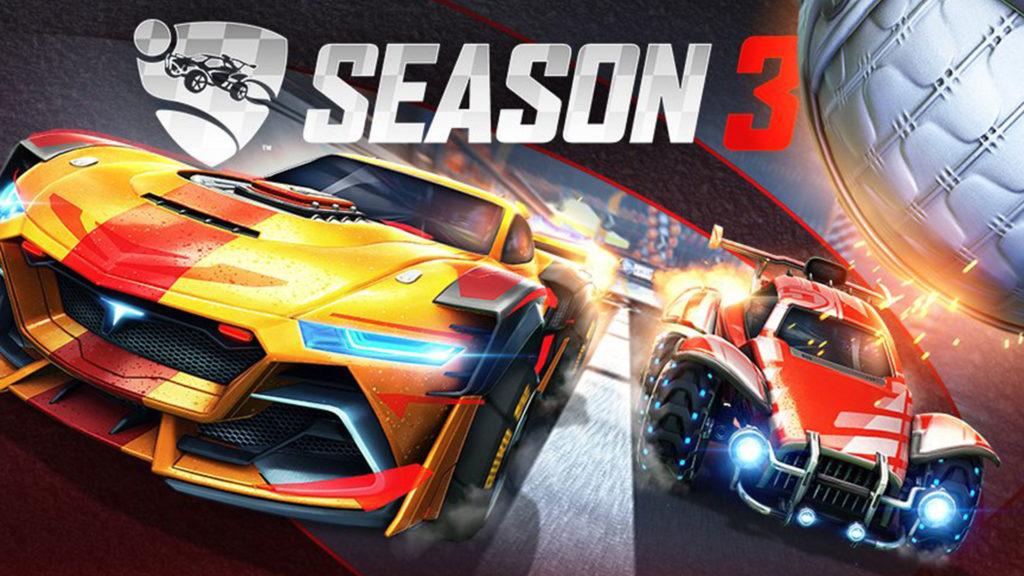 La saison 3 de la Rocket League comprend les bundles F1 et NASCAR