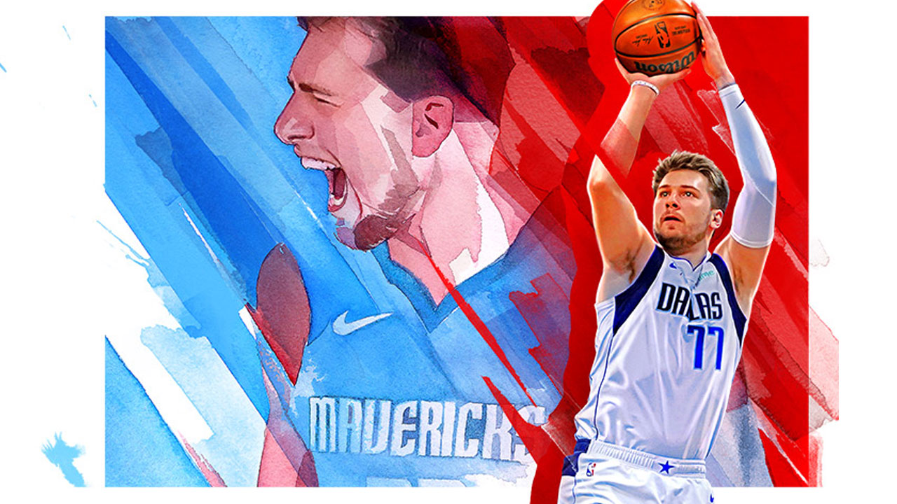 NBA 2K22 reveals Luka Doncic and Candace Parker as Cover Stars